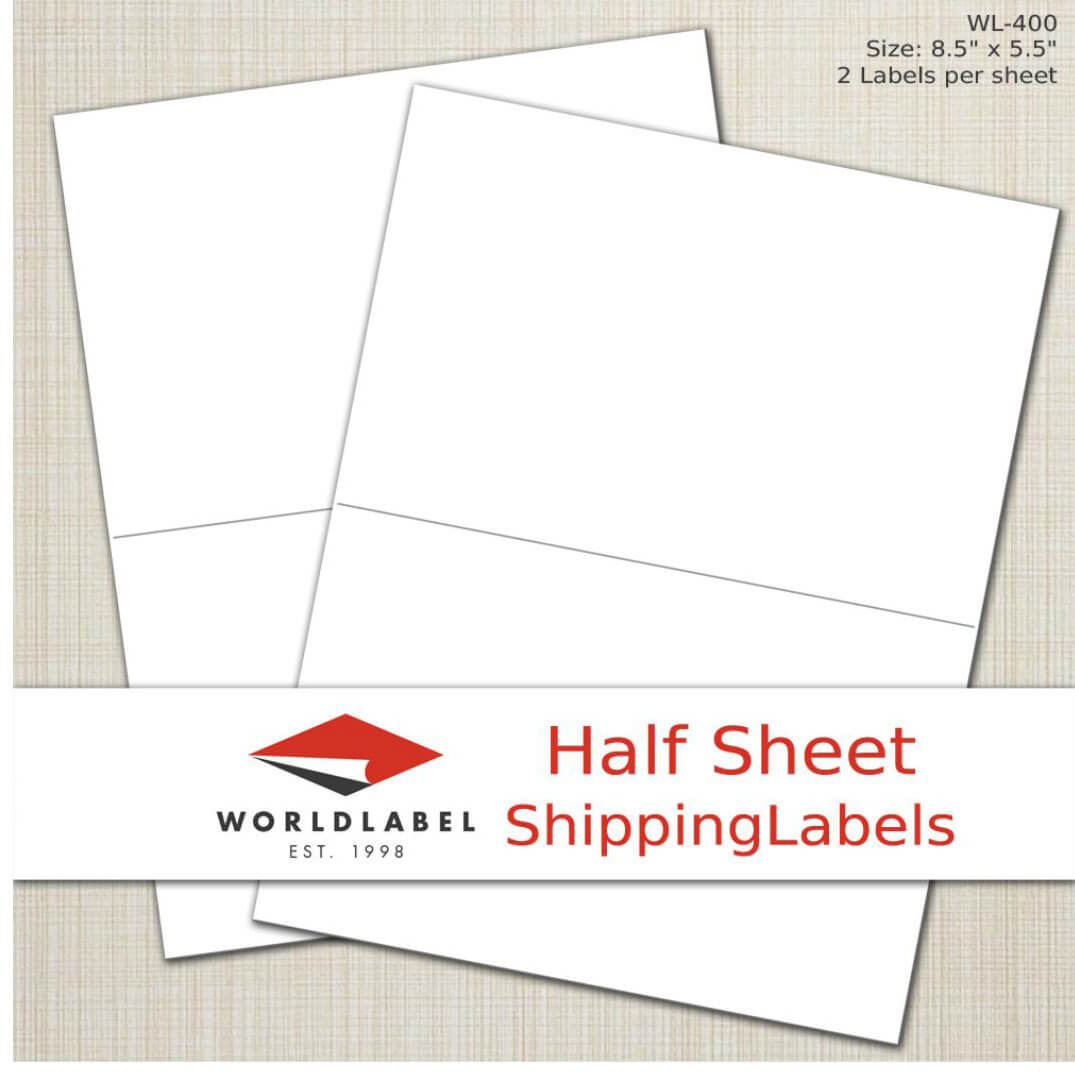 Sheet labels in many sizes, uses and materials, labels on sheets
