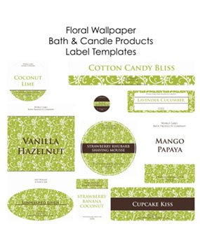 Free blank label templates online soap and candle labels bath and body labels maxwellsz
