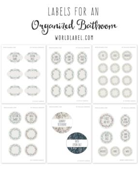 worldlabel s free pre designed label templates