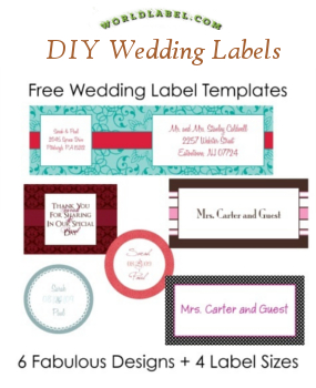 wedding labels valentines labels