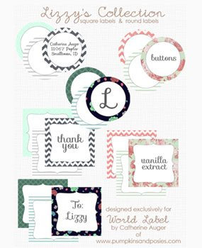 Favor Food And Gift Labels