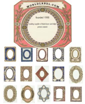 Vintage Themed Labels