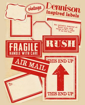printable mail labels