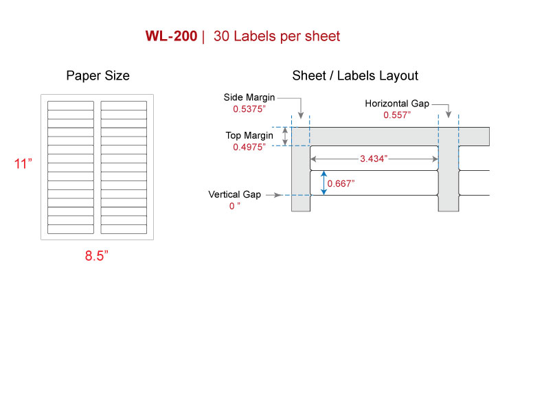 File folder labels our wl 200 same size as avery 5366 for Avery template 5366 for word