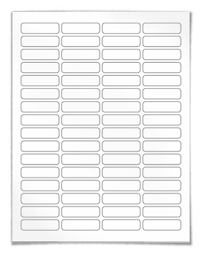 Free Return Address Label Template 30 Per Sheet