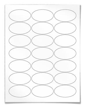 Avery Round Print-to-the-Edge Labels, 2 1/2