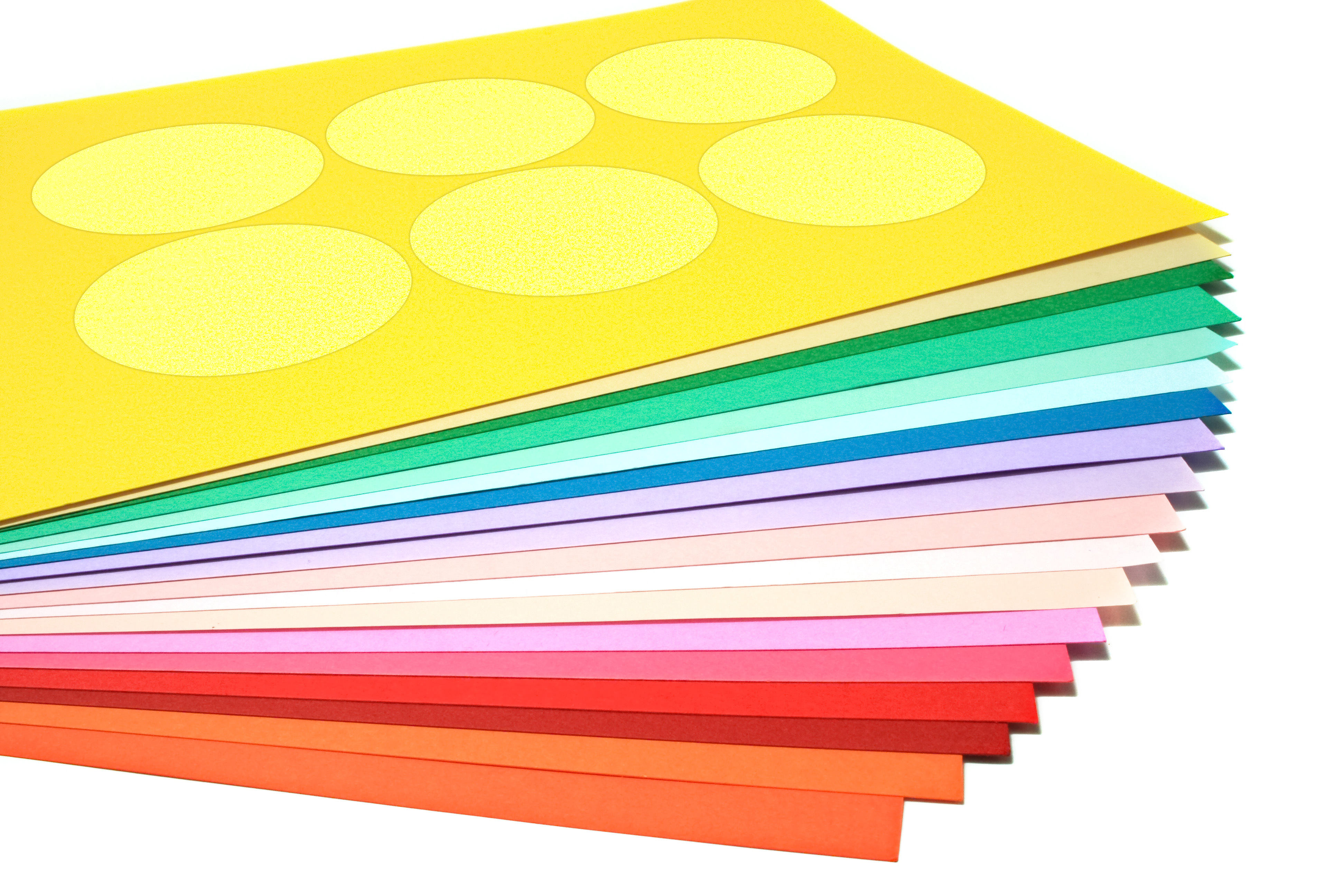 Color Labels for laser and inkjet printers.
