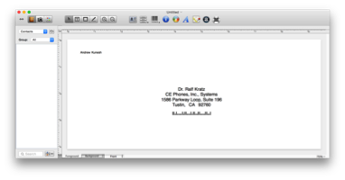 Mail Merges on Mac