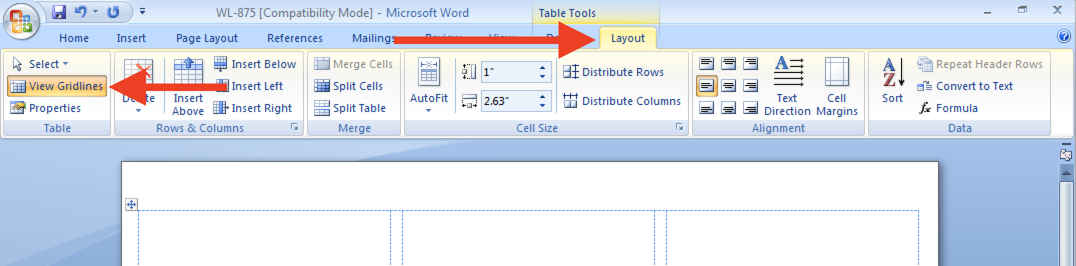 Insert And Resize Imagestext Into Label Cells In A Word Template